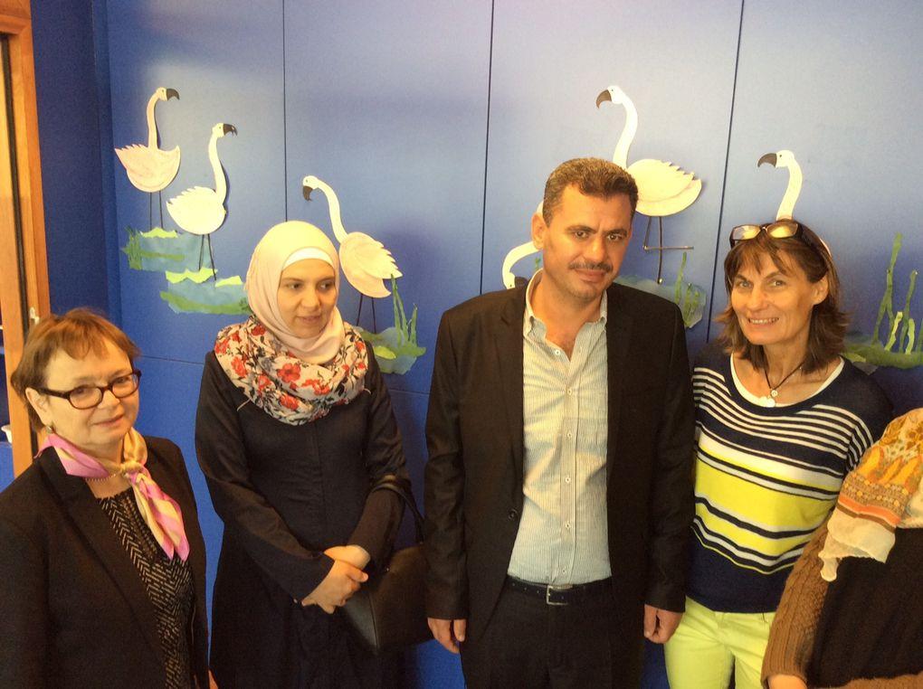 3è anniversaire de la Charte Metz-Alep : accueil de la délégation