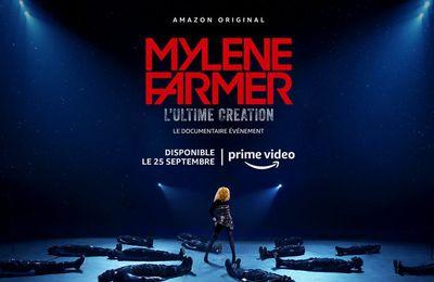 La série documentaire « Mylène Farmer, l'Ultime Création » disponible dès le 25 septembre sur Amazon Prime Video