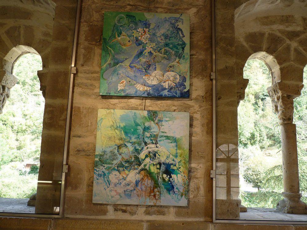 rencontre avec JUDY BIRON peintre