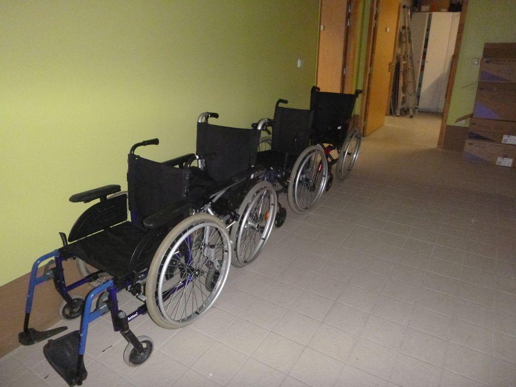 11 juillet 2019- Collecte de matériel lourd hôpital à Grainville