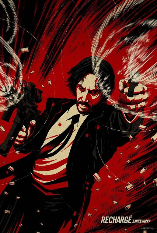 JOHN WICK 2, DES AFFICHES COLLECTOR CLASSES !
