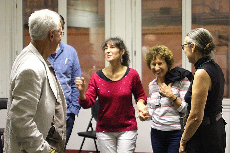 Myriam Saligari présentait la Pomme d'Ève à La Comédie Humaine, Avignon