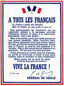 Joinville-le-Pont : Cérémonie commémorative de l'appel du 18 juin 1940