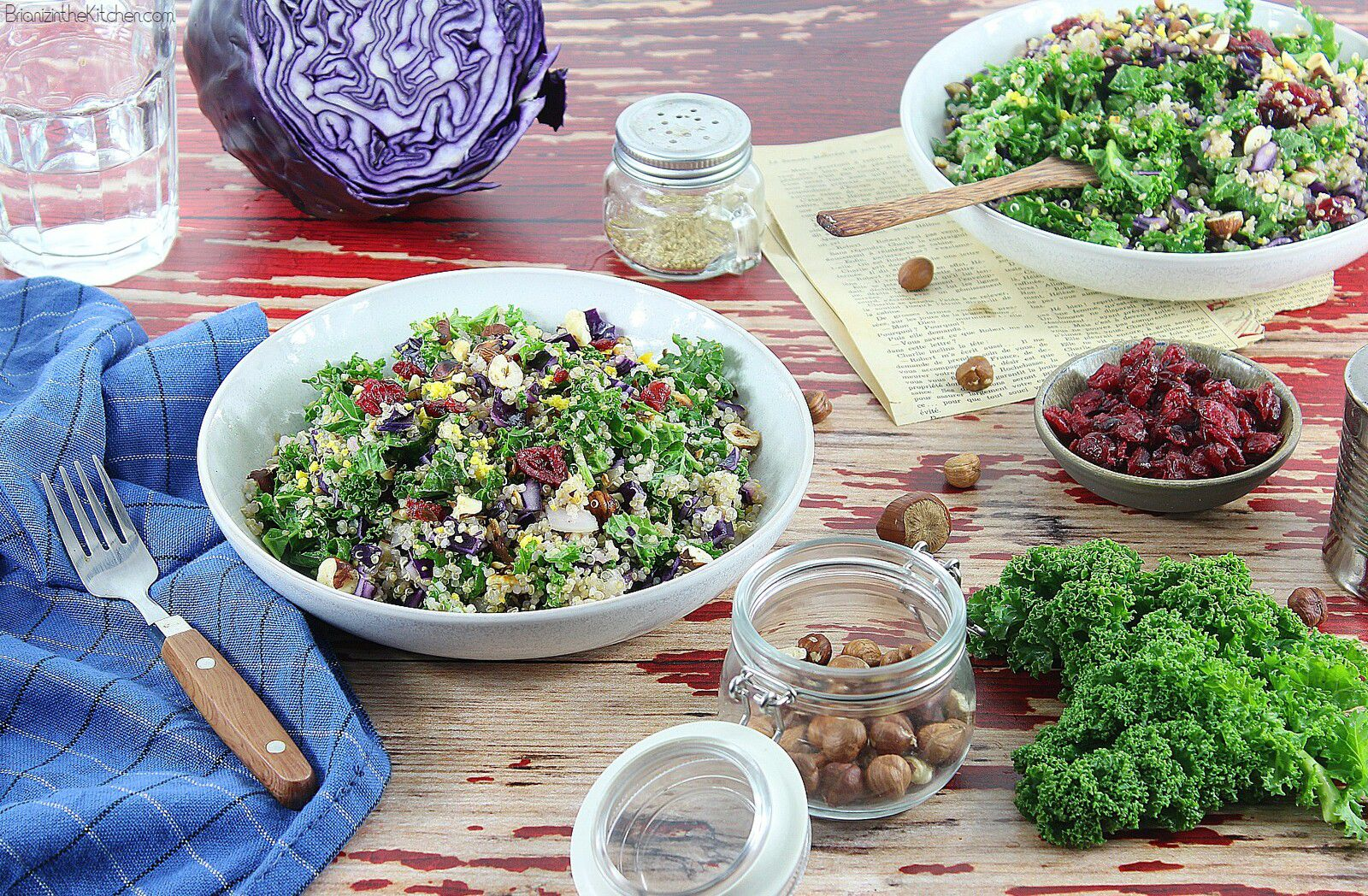 Salade d'Hiver au Quinoa et Super-Aliments