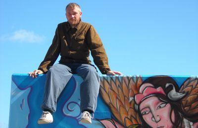 Près de Dieppe : une fresque murale sur la mer signée Konu