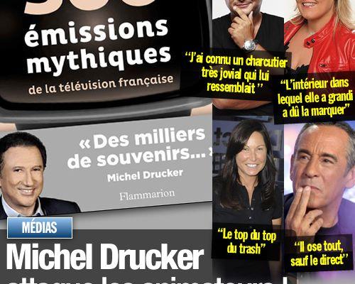 Michel Drucker attaque les animateurs !
