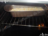 Cake poire, noix et roquefort