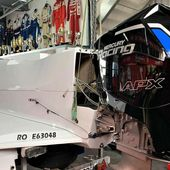 The first European Mercury Racing 360 APX outboard engine, received in La Rochelle - Yachting Art Magazine