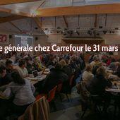 Grève générale chez Carrefour le 31 mars 2018 | Force Ouvrière