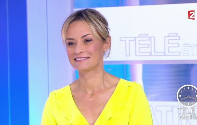 📸8 NATACHA HARRY @natacha_harry ce matin @telematin @France2tv #vuesalatele