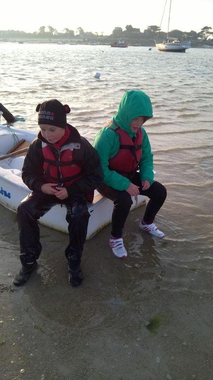 Voile et kayak