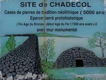 Site de Chadecol (Haute Loire) ...