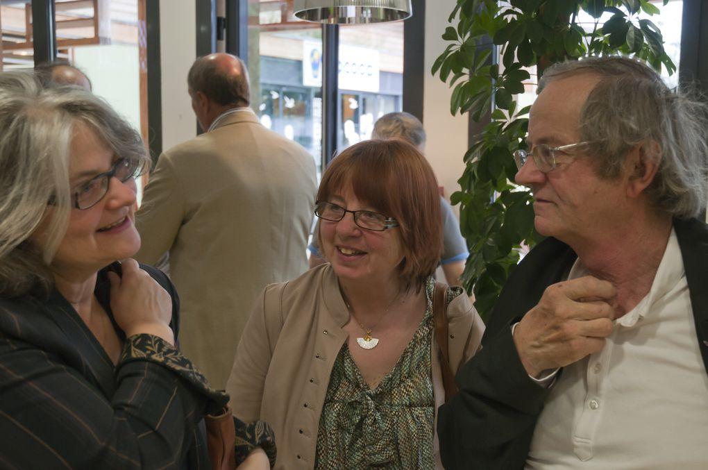 """Une cinquantaine de chefs d'entreprise étaient réunis autour du thème """" La Vallée de Seine en Action"""", en présence de Mme Sophie PRIMAS Sénatrice des Yvelines, de Mmes Charlotte SORRIN et Marie BRUYERE du Conseil Général des Yvelines, et de M"""