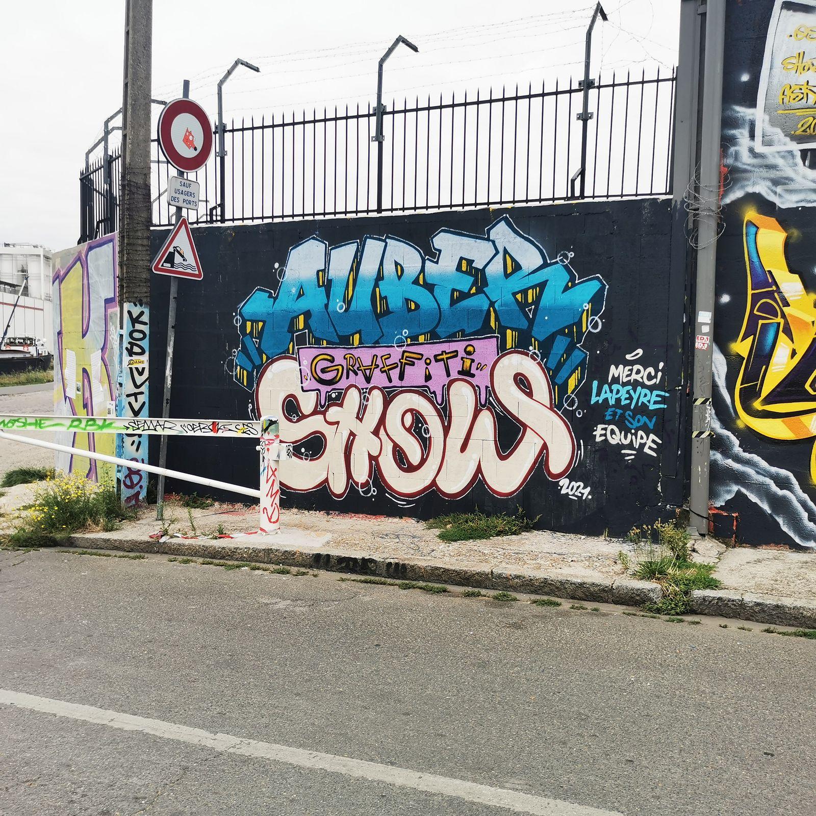 Auber graffiti 2021