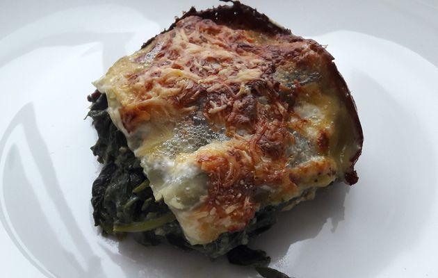 Lasagnes d'épinards frais (reblog)
