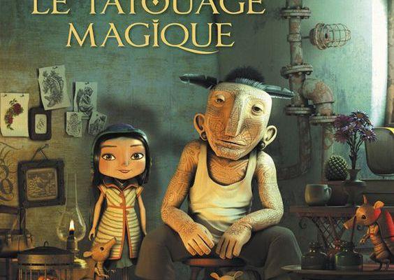 Le tatouage magique - Mathieu Roussel