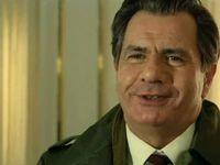 """Michel Galabru dans """"Le Gendarme se marie"""" en 1968, dans """"Flic ou voyou"""" en 1978 et à la Foire du Livre de Brive en 2011"""