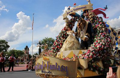 Walt Disney World : les parades du Magic Kingdom