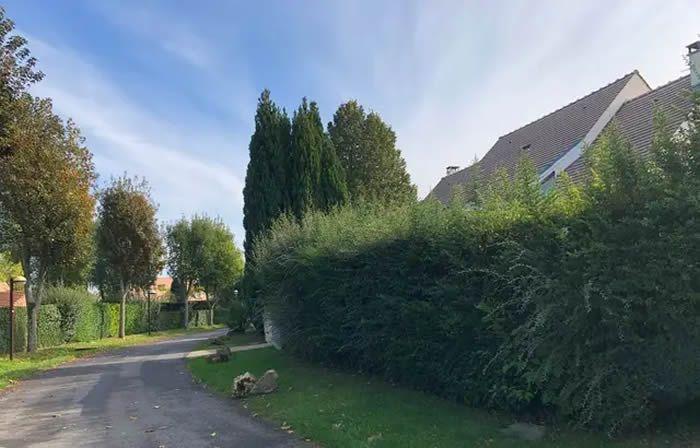 Guermantes, le 14 Octobre 2020. La rue où vivait Estelle Mouzin avant sa disparition en janvier 2003. — V. VANTIGHEM