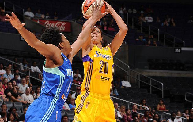 WNBA: Los Angeles s'impose face à New York