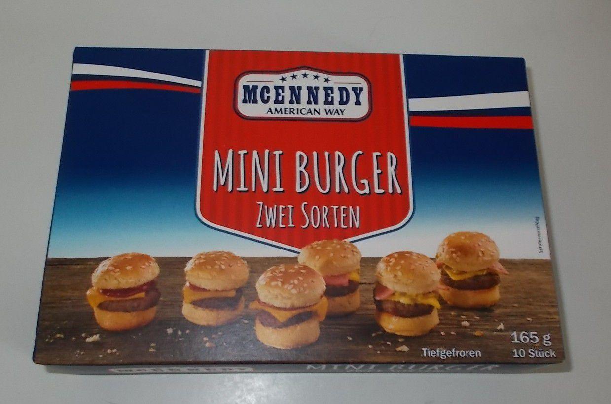 Lidl McEnnedy Mini Burger Zwei Sorten