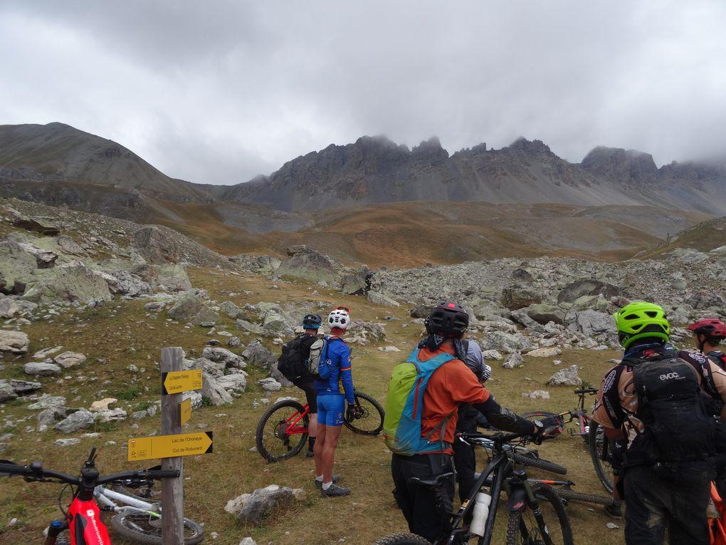 Spadtribu jour 3 : Cap sur le Lac de Roburent au départ du col de Larche (04) : du vrai VTT de montagne !!