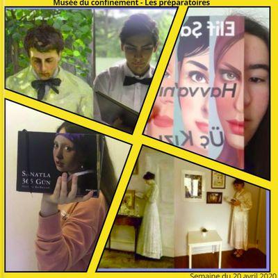 Activités en Hazırlık durant le confinement, 2/3 : Bingo des livres