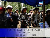 CENTRE LAVOISIER-PRIMAIRE-LASER TAG-JEUDI 23 JUILLET 2020