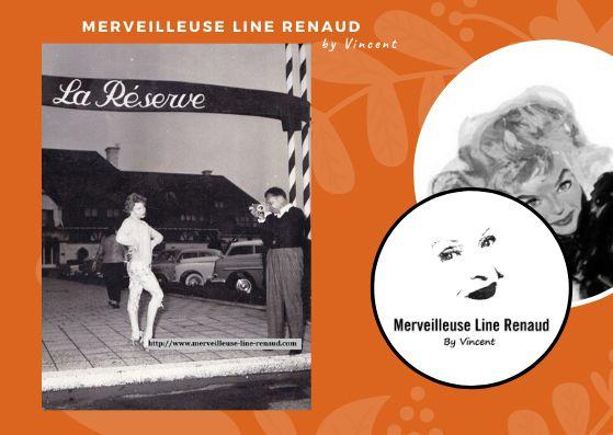 PHOTOS: Line Renaud à la Reserve