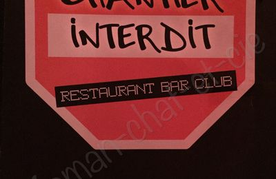Un petit bar parisien : chantier interdit!