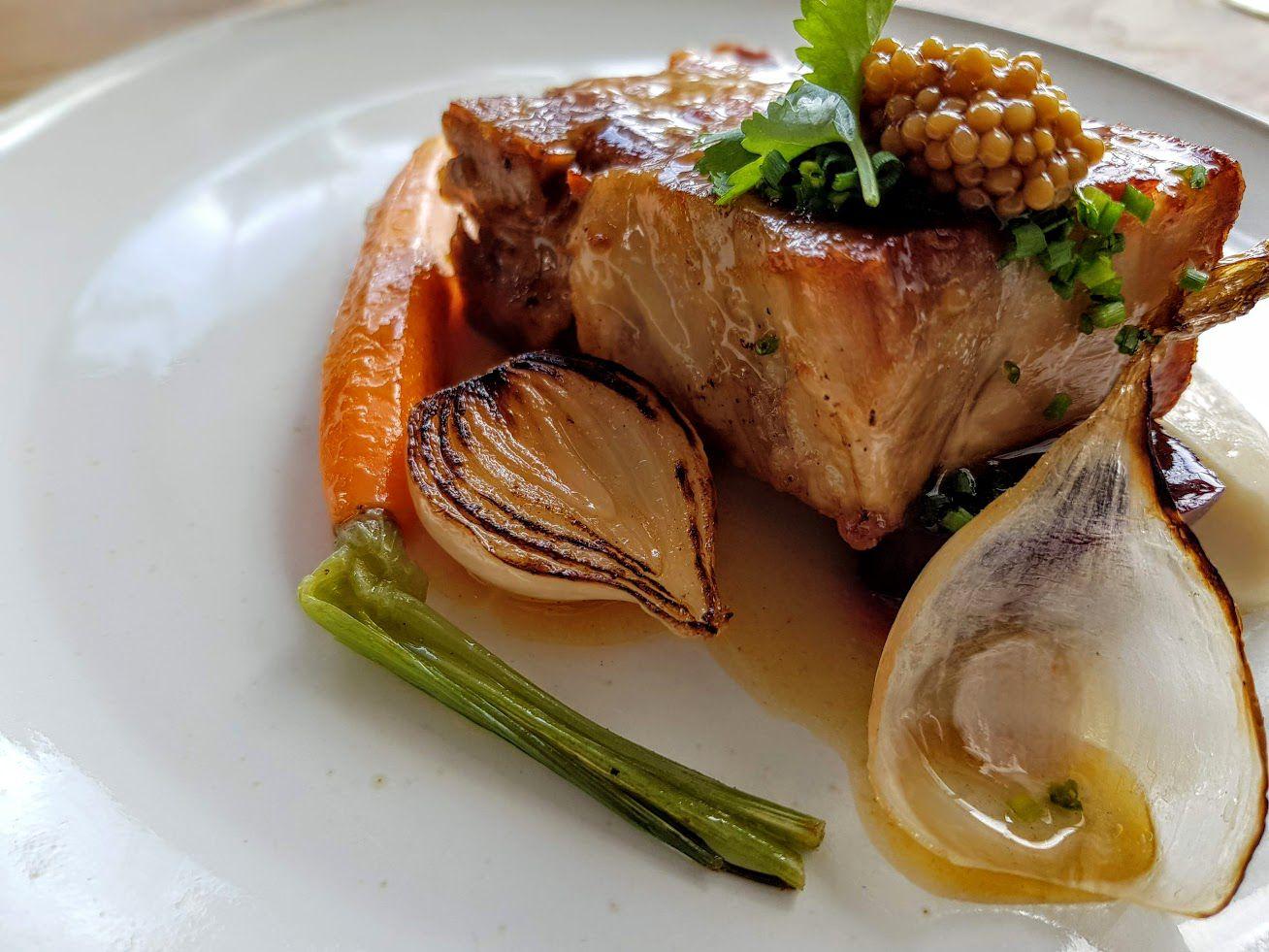 Poitrine de cochon Nosso restaurant PAris 13