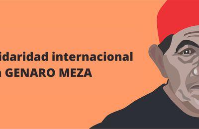 Parti communiste paraguayen , Déclaration commune de solidarité internationale avec Genaro Meza