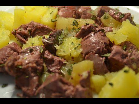 Recette cookeo vidéo foies de volailles aux pommes