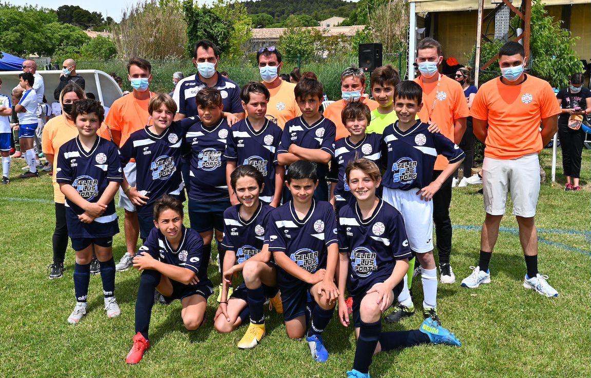 VILLELAURE  : Le bonheur retrouvé pour 450 jeunes footballeurs