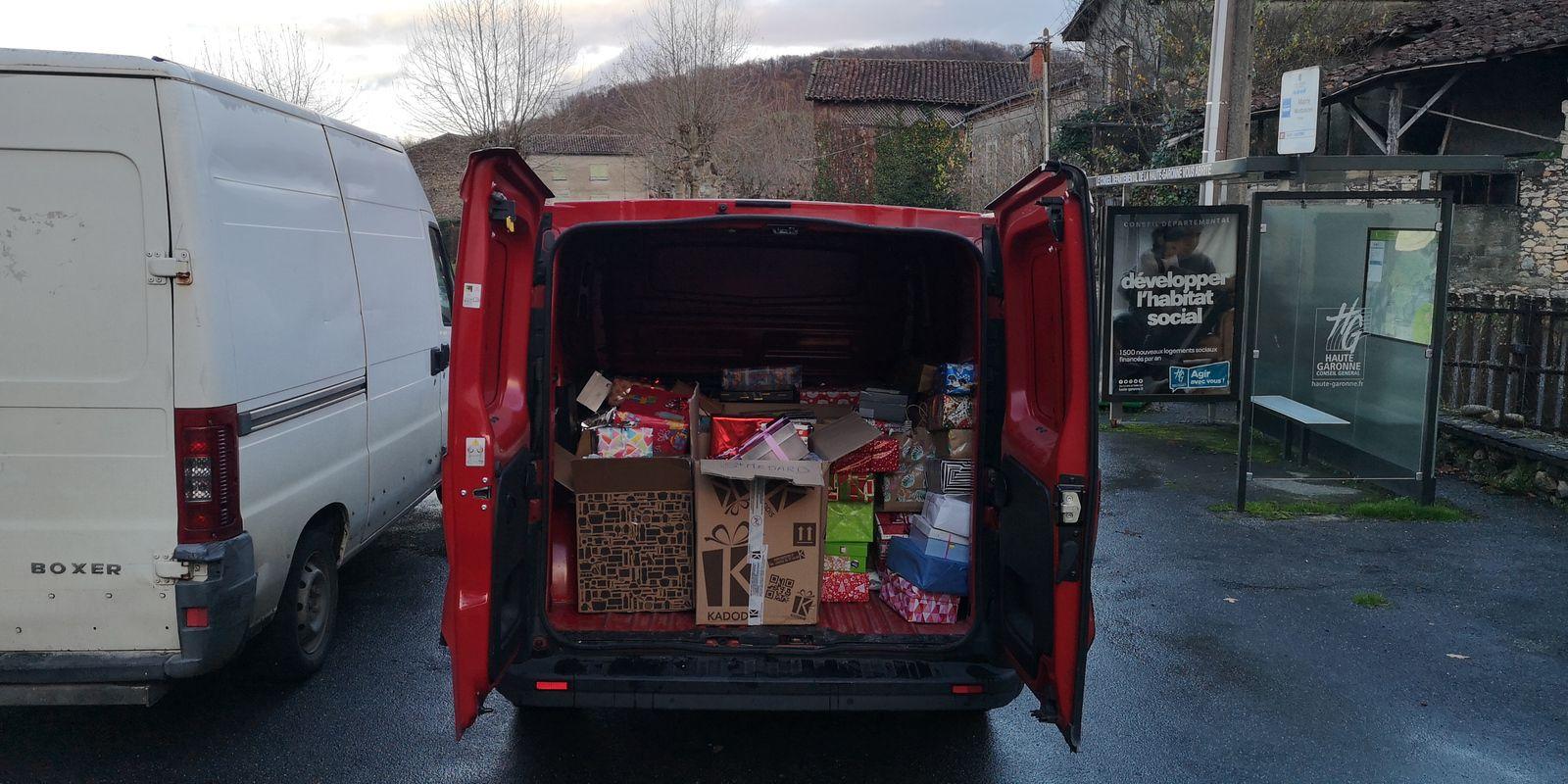 Boites de Noël - 750 boites à ce jour....