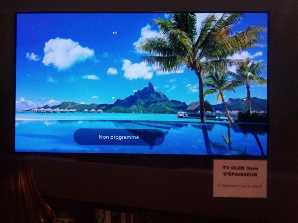 Sony @ Foire de Paris 2018 (TV KD Series et Bravia OLED TV)