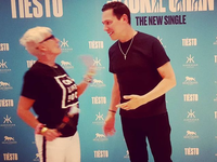 interview with Diane, big fan of Tiësto at 150 concerts in 10 years