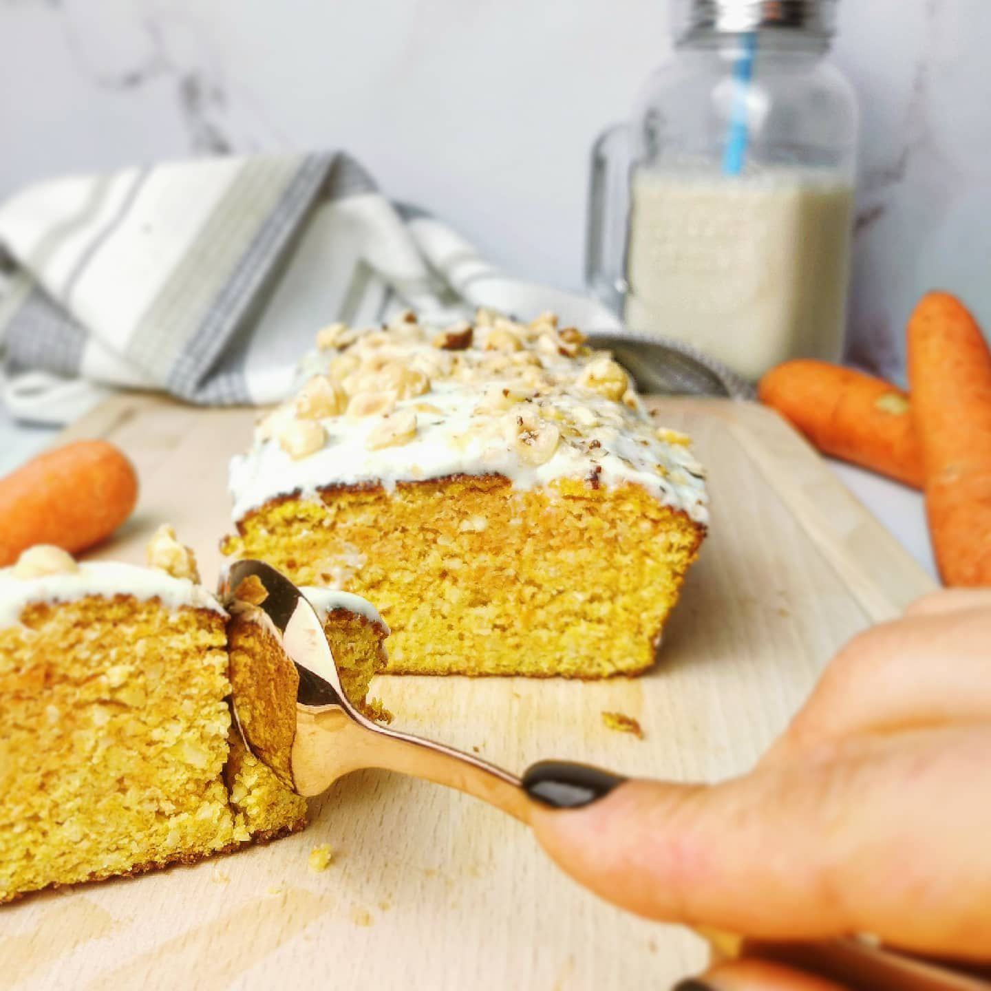 carrot cake healthy sans beurre