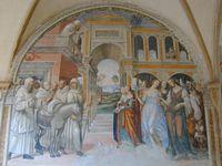 Fresques de Toscane