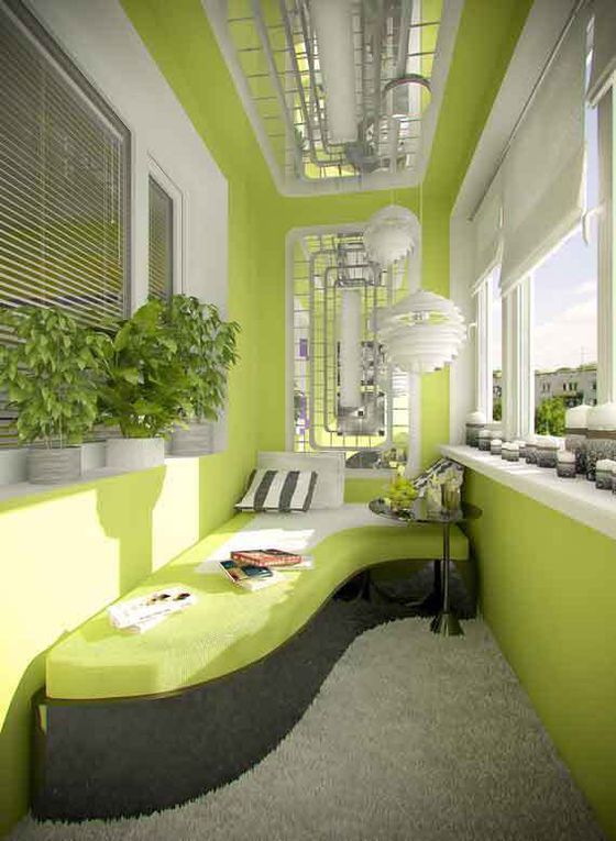 How to decorate your small balcony - here some amazing ideas