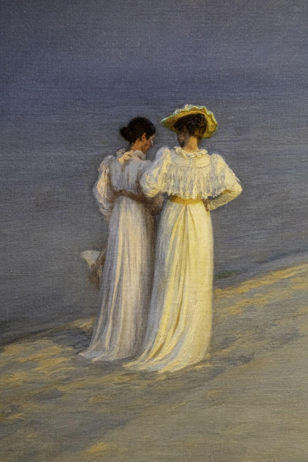 Soirée calme sur la plage de Skagen, Sønderstrand - 1893 - Peder Severin Krøyer