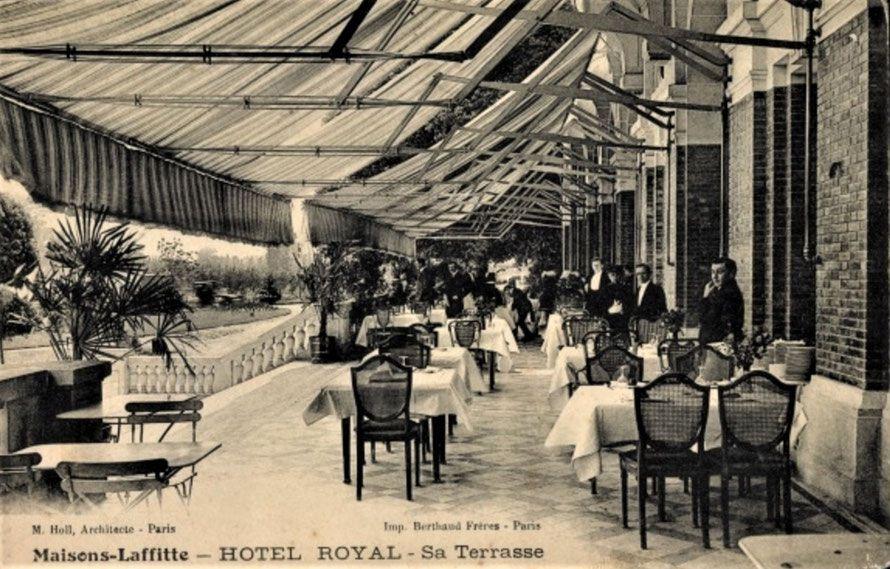 L'ancien Hôtel Royal sources photographies Les Petites Ecuries à Maisons-Laffitte