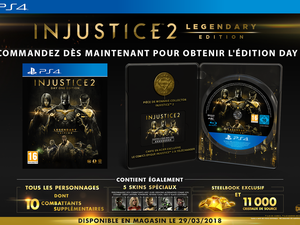 Injustice 2  Legendary Edition sera disponible le 29 mars 2018