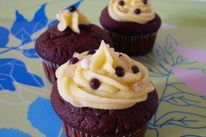 Cupcakes Chocolat Noir & Citron