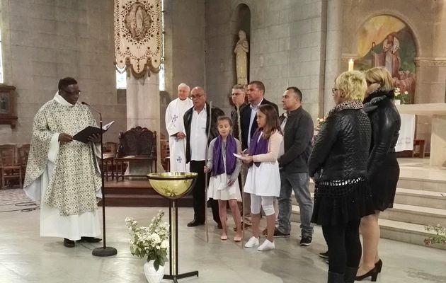 Baptême de Camille et Margaux
