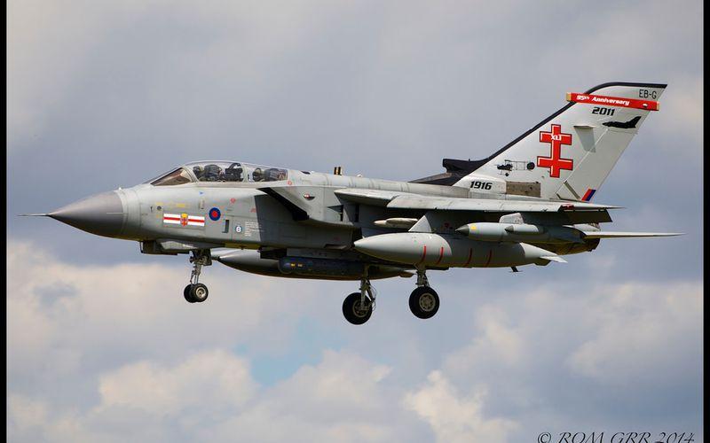 Des Tornado britanniques vont réaliser des missions de reconnaissance au-dessus de l'Irak