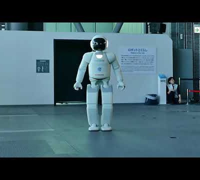 Roboter ASIMO aus Japan in Tokio