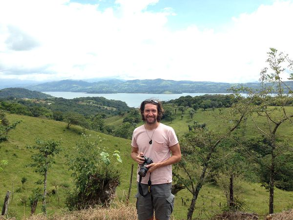 Leaving the Arenal volcano and its giant lake heading to the Pacific Coast