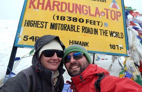 Vers Turtuk à 7 km du Pakistan avec le K2 en point de mire !