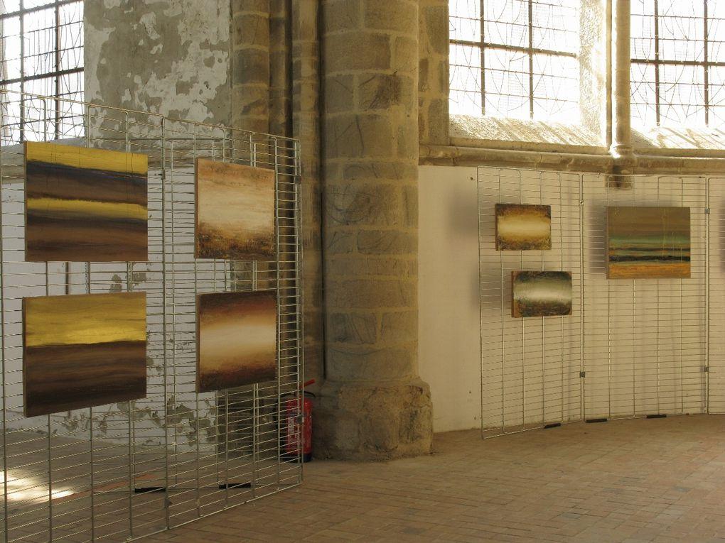 Coutances, exposition à l'église Saint-Nicolas, août 2012